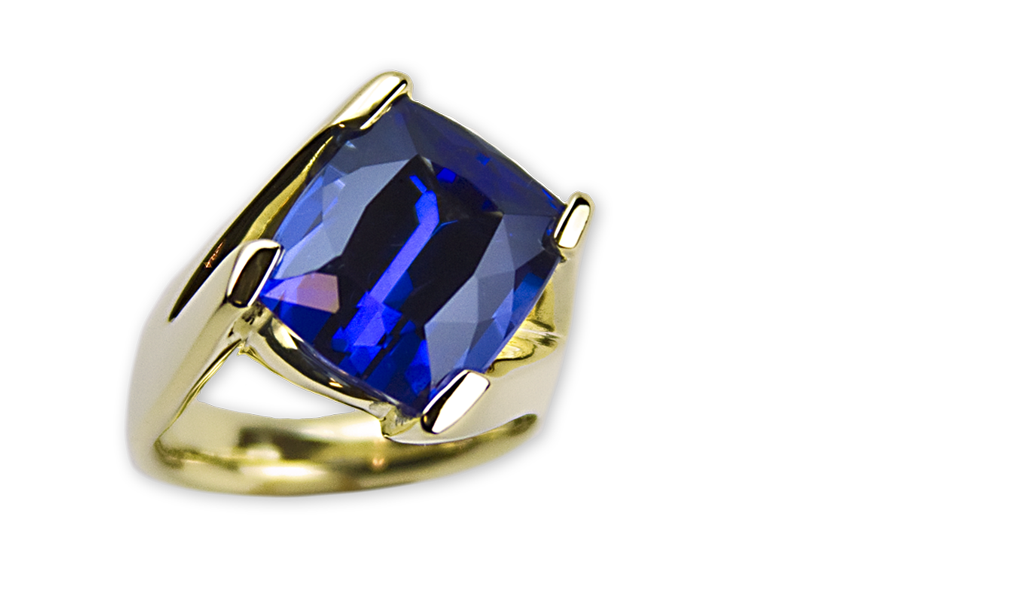 """""""Blue Heaven"""" Ladies Ring"""