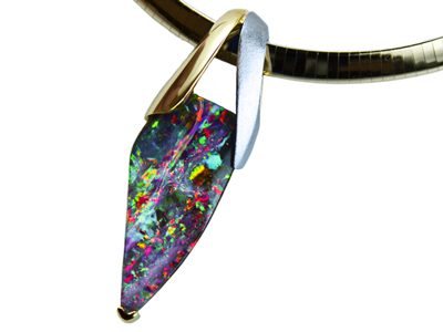 Masterworks Opal Pendant