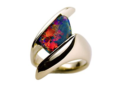 """Eye of God"" Ladies Ring"